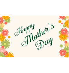 Happy mother day background collection style vector