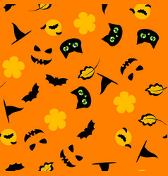 holiday background for halloween vector image vector image