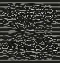 modern trendy minimal waves seamless pattern vector image vector image