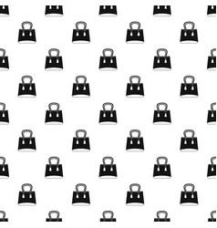 small woman bag pattern vector image