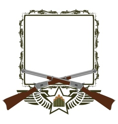 Icon Winchester vector image
