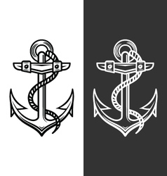 Anchor logo vector
