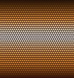 Background of hexagons vector image
