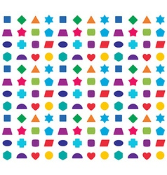 Colorful kids seamless pattern background Color vector image vector image