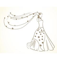 bride to be vector image