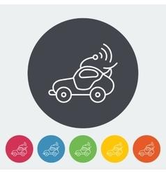 Car toy vector