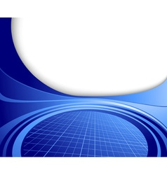 hitech template vector image vector image