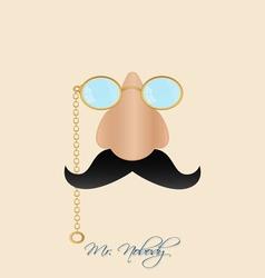 Mr nobody vector image