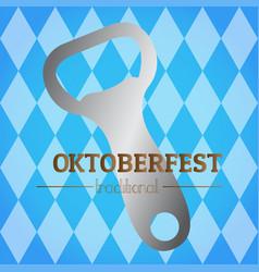 oktoberfest graphic design vector image