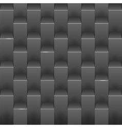 Abstract background with black boxes vector image