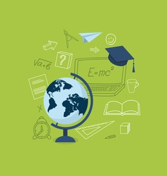 Global education vector