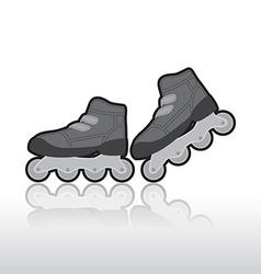 Roller skates vector