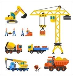 Under construction technic vector image