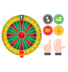 Roulette casino gamex9 vector