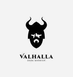 valhalla logo vector image