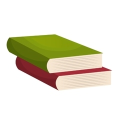 Education and book isolated icon design vector