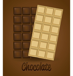 delicious chocolate vector image