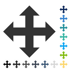 Expand icon vector