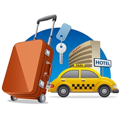 hotel service vector image vector image