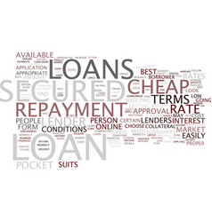Let the loans fit in your pocket with cheap vector