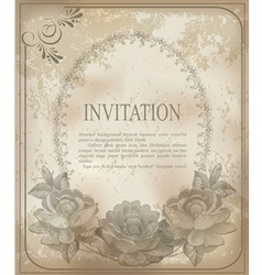 vintage old background vector image vector image