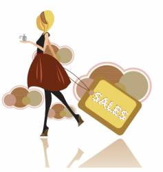 Fashion sales vector