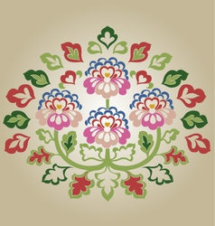 Fancy flower vector