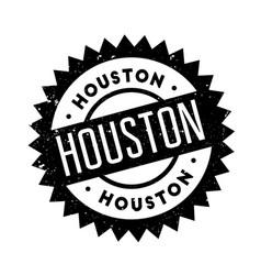 Houston rubber stamp vector