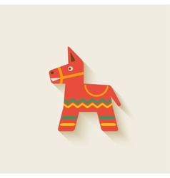Mexican party pinata vector