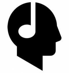 note head vector image