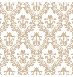Vintage imperial baroque ornament pattern vector