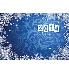 New years 2014 background vector