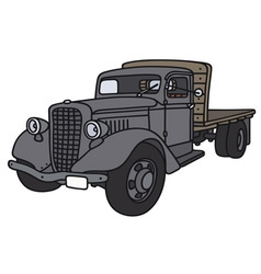 Old truck vector
