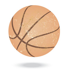 Basketball-vintage vector