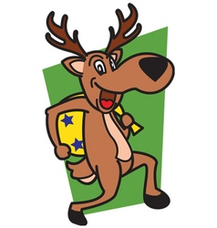 Deer Thieves vector image