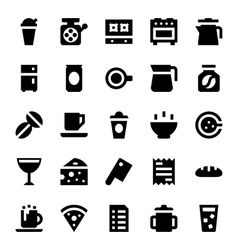 Hotel services icons 8 vector