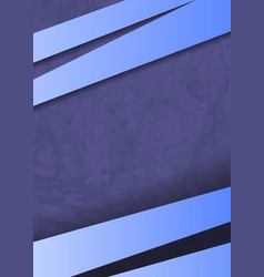 purple background paper layer with blue vector image