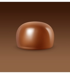 Realistic Milk Chocolate Candy Isolated vector image