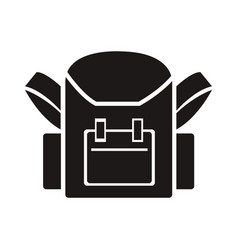 school bag back to school accessory vector image