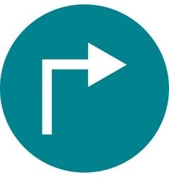 Right turn vector