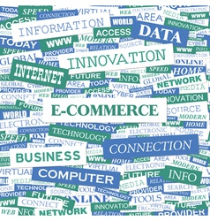 COMMERCE vector image