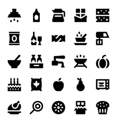 Hotel services icons 9 vector