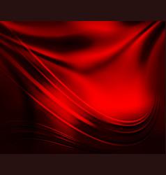 Red dark background vector