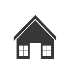 House home real estate building icon vector
