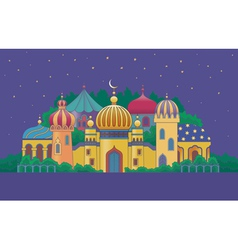 Arabian city 1 vector