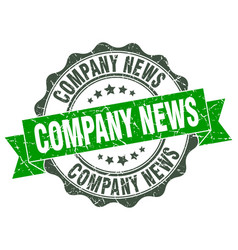 Company news stamp sign seal vector
