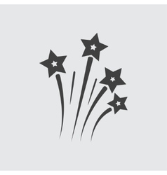 Fireworks icon vector image vector image