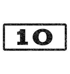 10 watermark stamp vector