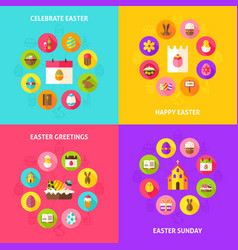 Celebrate easter concepts vector