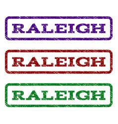 Raleigh watermark stamp vector